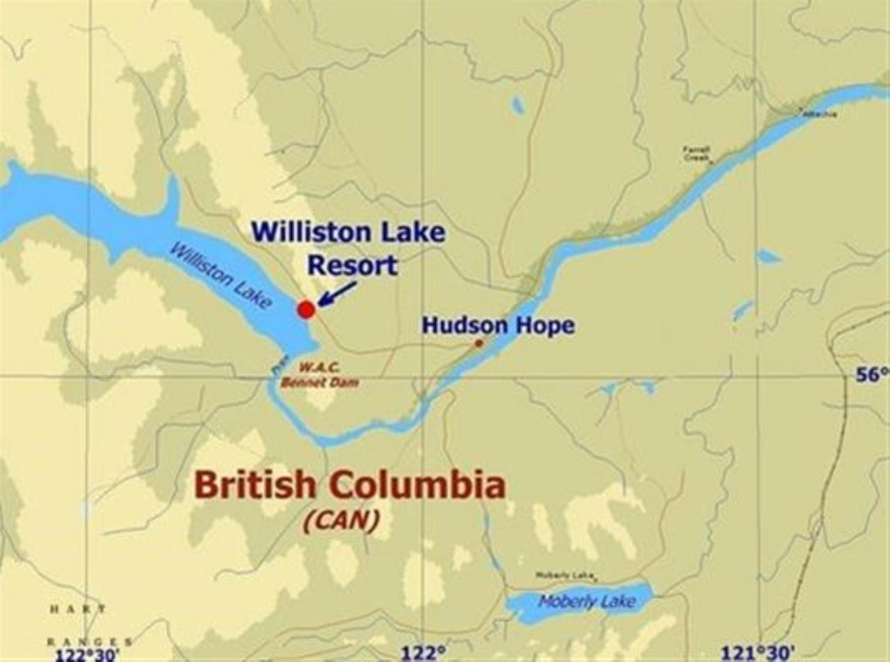Home Williston Lake Resort